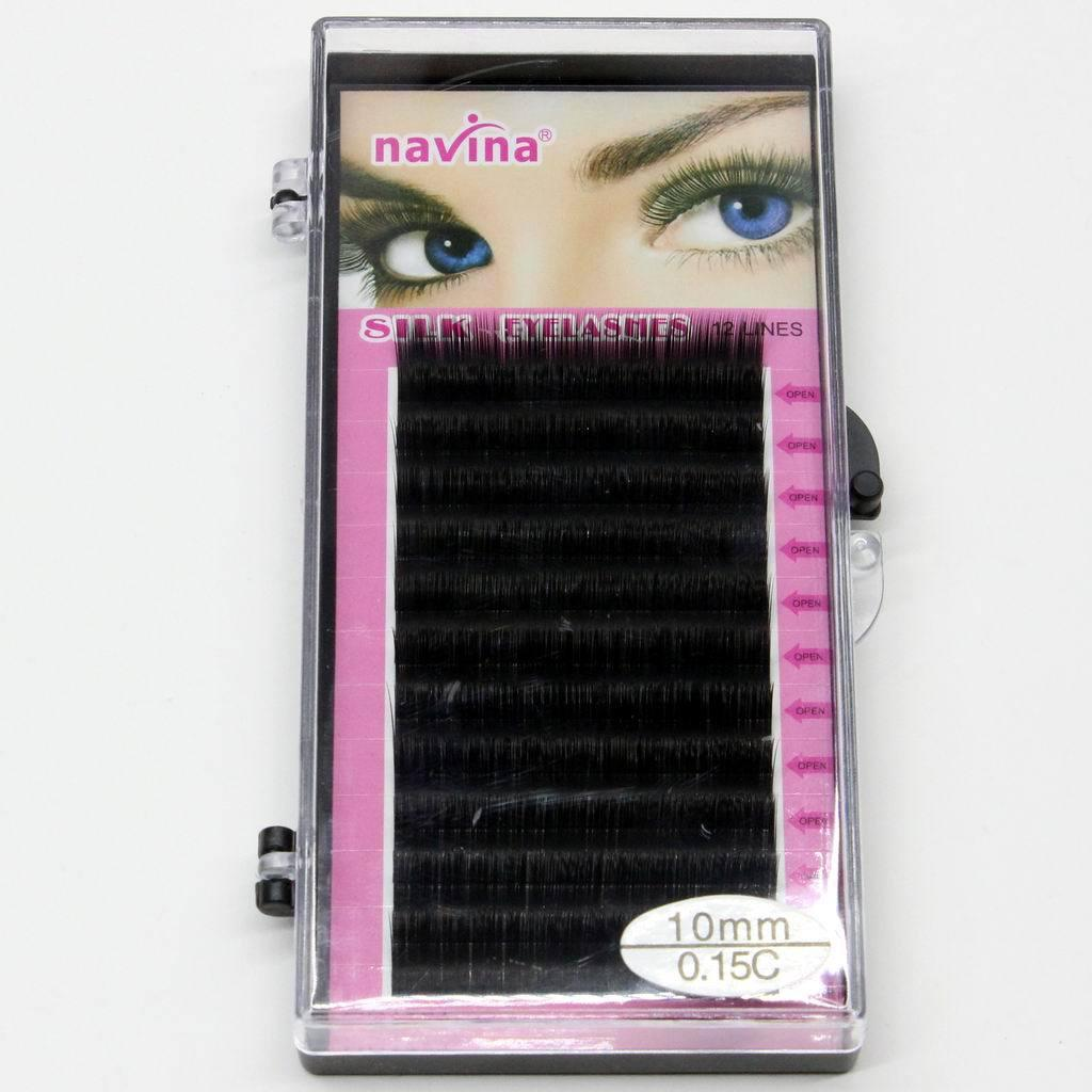 Pro Makeup 8mm 10mm 12mm 14mm MINK Individual Eyelash Extension maquiagem Handmade Artificial Fake False Eyelashes C-curl Lashes 12Lines