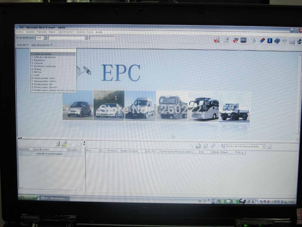 2015 03 DAS Xentry WIS EPC DAS SD media Software in d630 hard disk Fit For  Mercedes Benz Car C3 / C4 Star Diagnosis