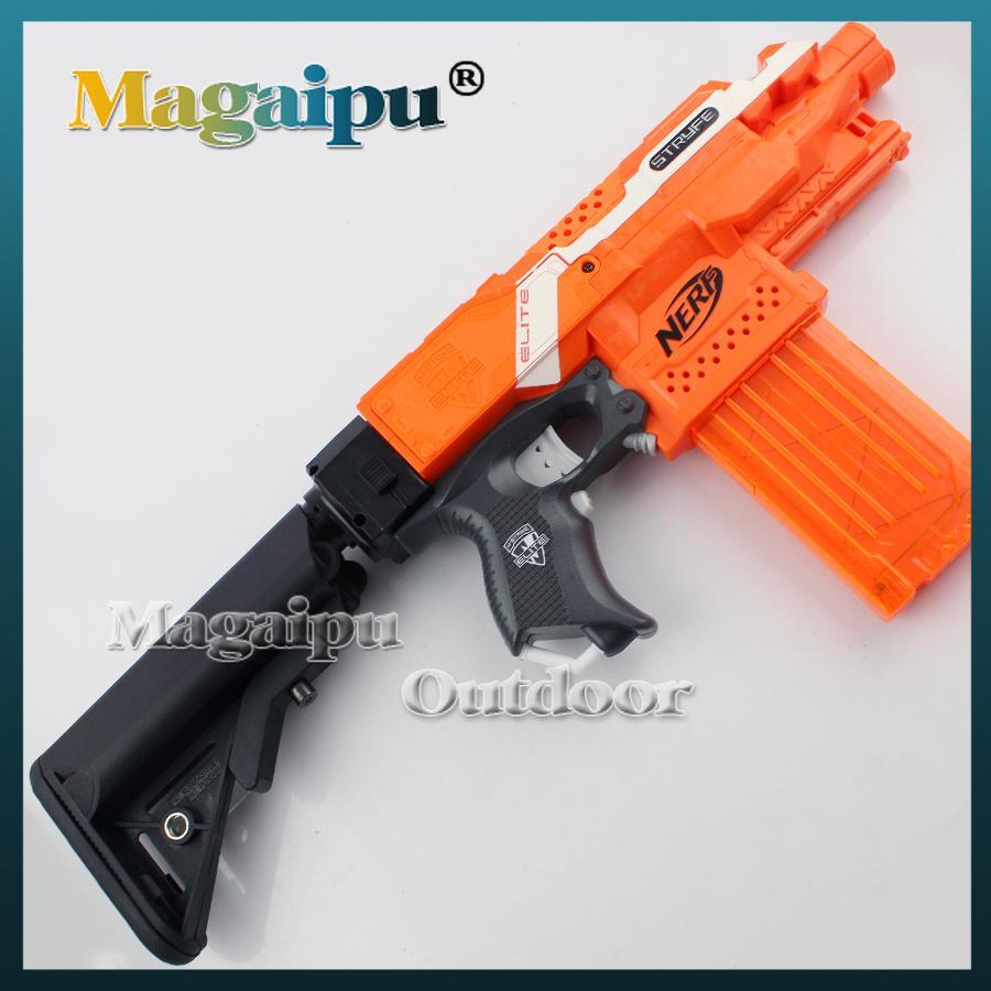 Nerf Toy Gun Navy Buttstock Drss Fab Defense Gl Shock