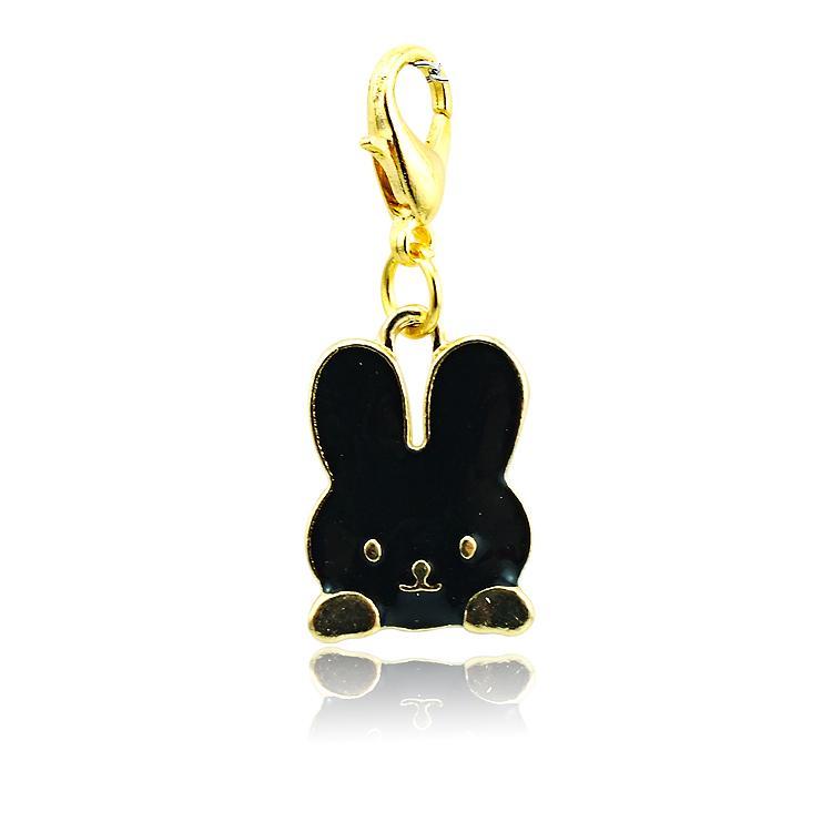 Brand New Fashion Charms galleggianti Lega aragosta Catenaccio i Coniglio Animali Charms Accessori gioielli fai da te