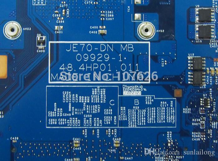 JE70-DN MB MB.PT901.001 Laptop Motherboard For Acer ASPIRE 7551 Laptop MBPT901001 Motherboards Without GPU Included