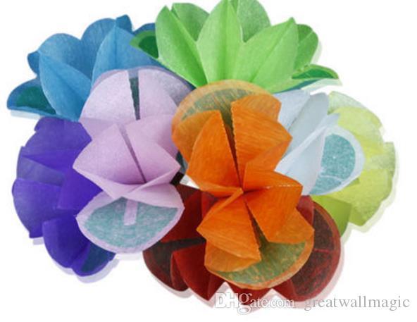Paper Twist Flower Stage Magic Magic Tricks Levitation Magic Tricks