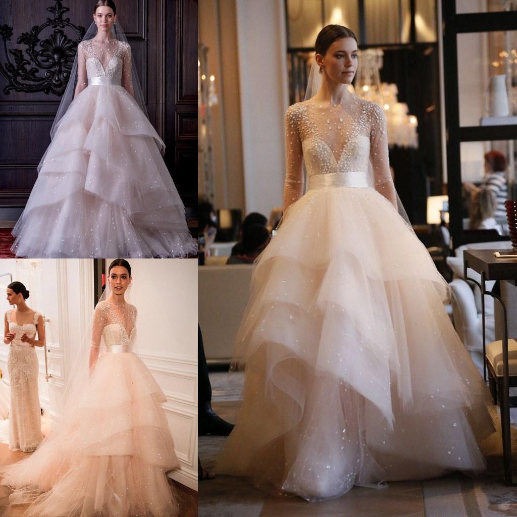 Vestidos de novia monique lhuillier 2016