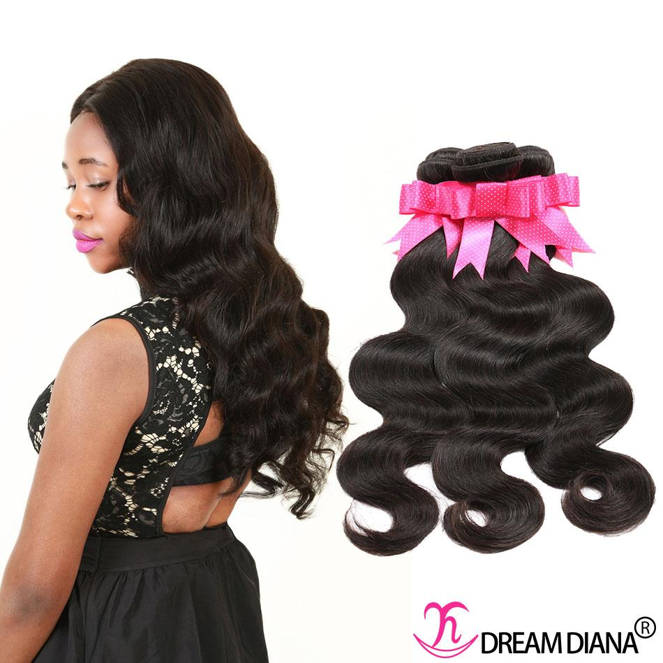 Human Hair Weave Malaysian Hair Bundles Body Wave 3 Bundles 300g