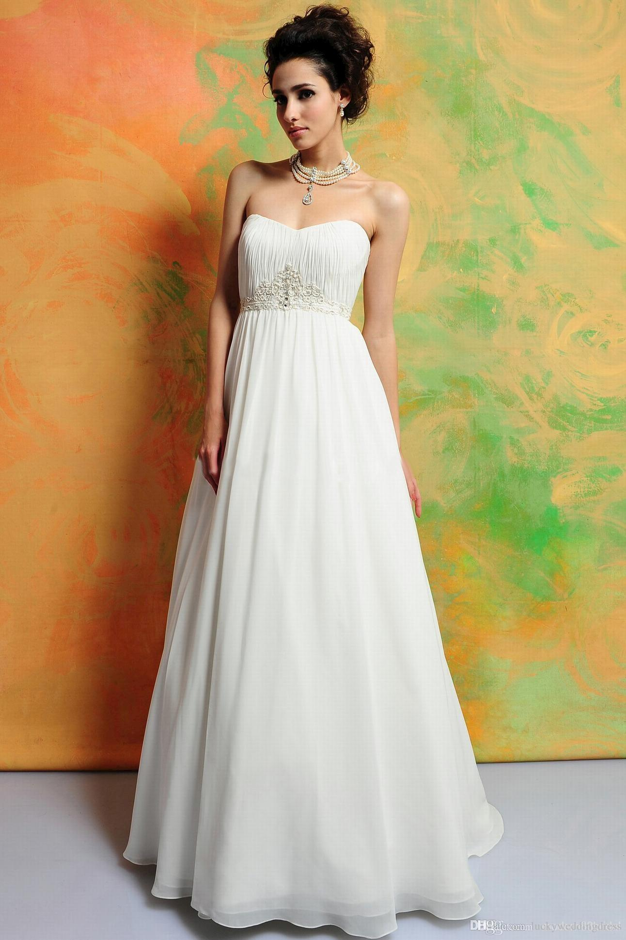 2015 wedding dress empire waist pregnant maternity dress ruffles 2015 wedding dress empire waist pregnant maternity dress ruffles sweetheart strapless sweep prom chiffon gorgeous sash appliques new cheap wedding dresses ombrellifo Gallery