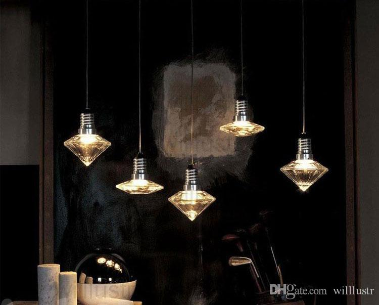 ljuskronor kristall hänglampa Facon de Venise Led Crystal Drop Light Glass Suspension Lighting Dinning Room Parlor Hotel Room Bar