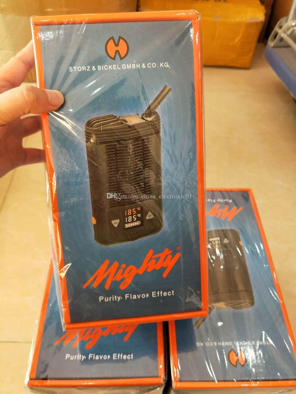 Best selling Mighty Vaporizer Dry Herb Starter Kits Handheld Personal Vape mods Temperatuer adjustable vape pen Big vapor Ecigs