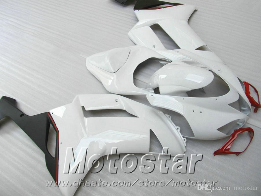 Fairing kit for Kawasaki Injection molding ZX-6R ZX636 07 08 fairings 2007 2008 ZX6R Ninja red black white bodywork set NJ93
