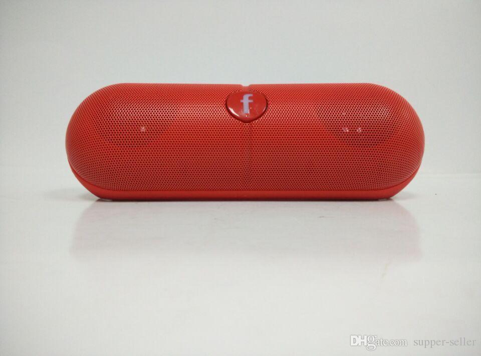 Pilule XL Bluetooth Mini Haut-Parleur Protable Sans Fil Stéréo Musique Boîte Sonore Audio Super Bass U Disque TF Slot Avec Poignée DHL GRATUIT