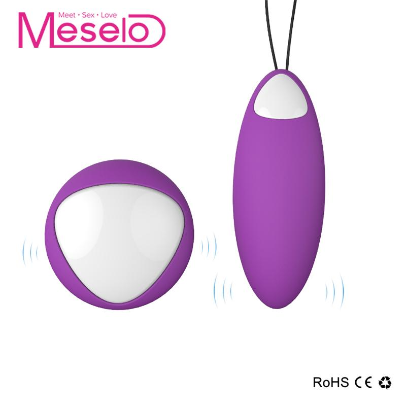 Meselo Remote Control Vibrator Ball, USB charge Wireless Vibrating Vaginal Clitoris Massager Bullet, Adult Sex Toys For Woman