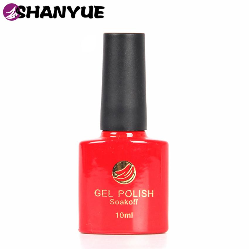 Free Gift 72 Colours Uv Gel Nail Polish Sapphire Base Color Paint ...