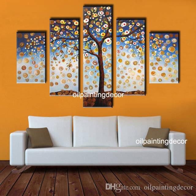 Pitture murali moderne arredare la camera da letto con i - Pitture decorative moderne ...