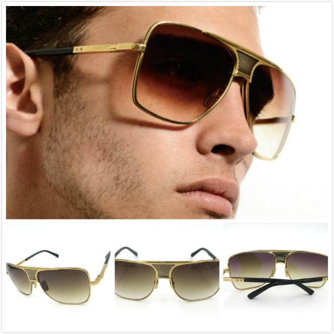 c38aa249abd DITA MATADOR 18K Gold Dita Eyewear DITA MATADOR Sunglasses Men Women Metal  Square Shape Retro Men Design Usher Dita Sun Glasses Kids Sunglasses Locs  ...