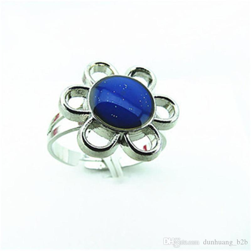 Mood Ring Wholesale Mood ring color change The Magic of Sunflower Band Ring