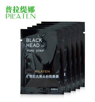 2017 Vendita calda Pilaten Minerali del viso conk naso Blackhead Remover Mask PORE CLEANSER NASH BLACK HEAD EX PORE Strip