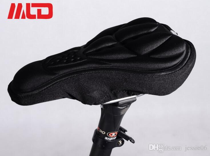 2015 New mountain bike riding saddle cover cushion space memory cotton bike socket sleeve cushion bicycles saddle cover cycling ems