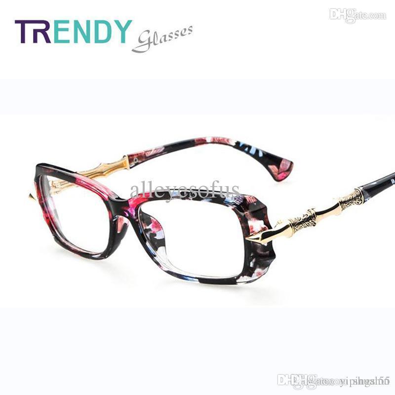 Compre Marcos De Anteojos Accesorios Para Gafas Mujeres Gafas De ...
