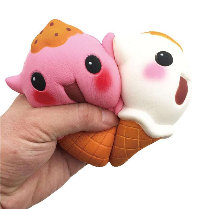 Mobile Phone Straps Jumbo Squishy Cartoon Hand Pillow Bread Soft Slow Rising Pendant Phone Straps Stretchy Squeeze Scented Cake Kid Toys Xmas Gifts At All Costs Mobile Phone Accessories