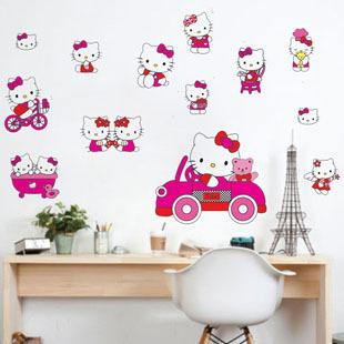Cheap Kids Hello Kitty Pvc Home Stickers Wall Decal ,Wallpaper, Room Sticker,  House Sticker Ld673 Wall Decor Stickers For Bedroom Wall Decor Stickers For  ...