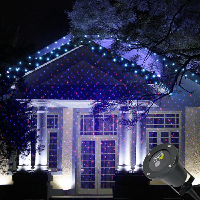 2017 New Red Blue Dots Display Laser Outdoor / Indoor Projector ...