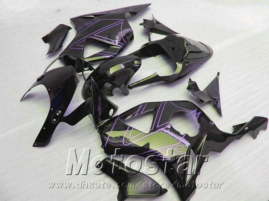7 Free gifts + fairing kit for Honda Injection molding cbr900rr 954 2002 2003 CBR 900RR purple black fairings set CBR954 02 03 YR63
