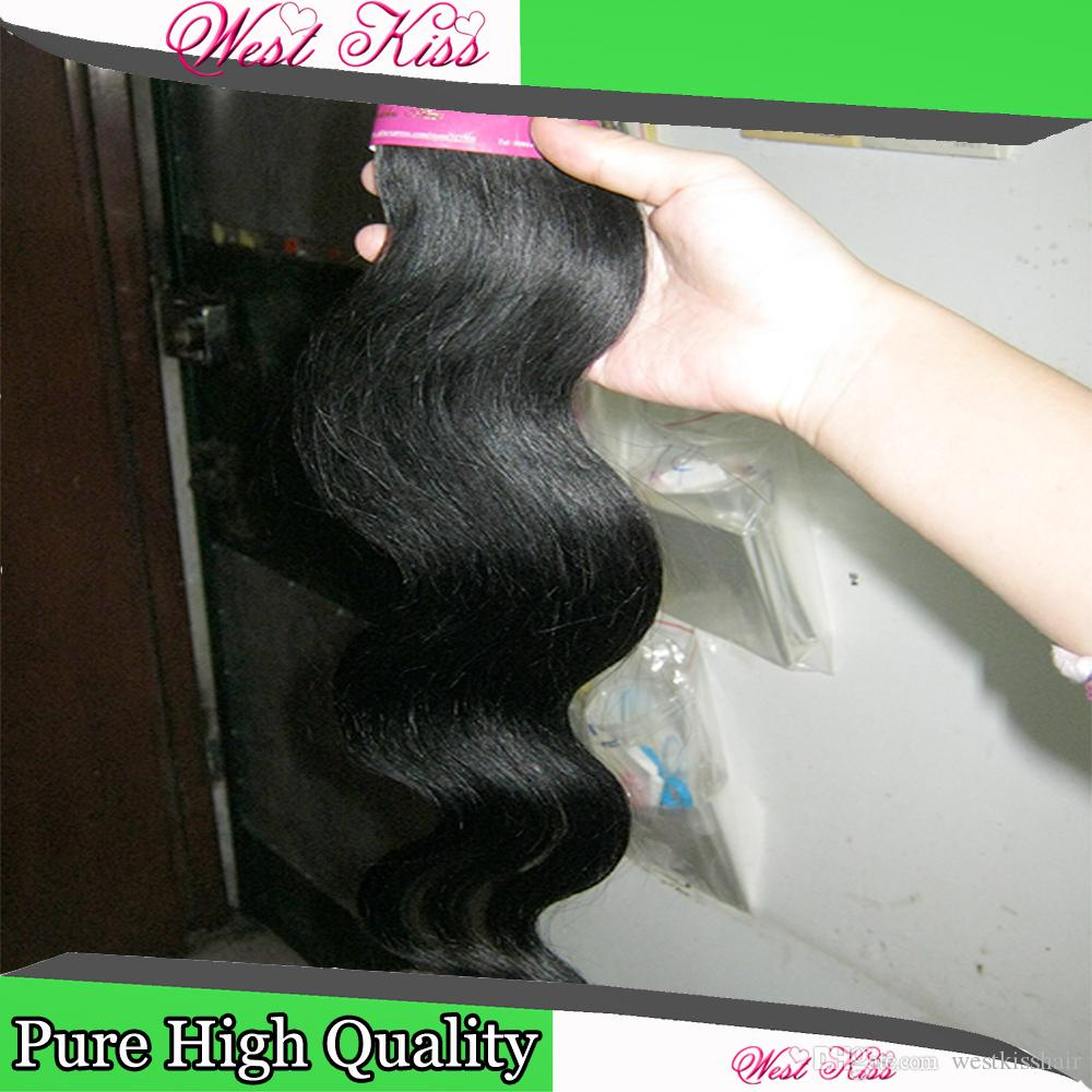 8 packsBundles Deal Cheapest processed Hair Brazilian Body Wave Human Hairs Sexy Lady Good Discount Weave DHgate Supplier