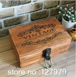 2018 Storage Box Retro Jewelry To Do The Old Wooden With Lock Secret Wood Case Boxes From Mm942015 6108