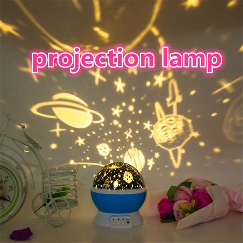 Colorful projecting lamp projector night lamps Cosmos Stars LED projector lamp Night light romantic Gifts ouc2099