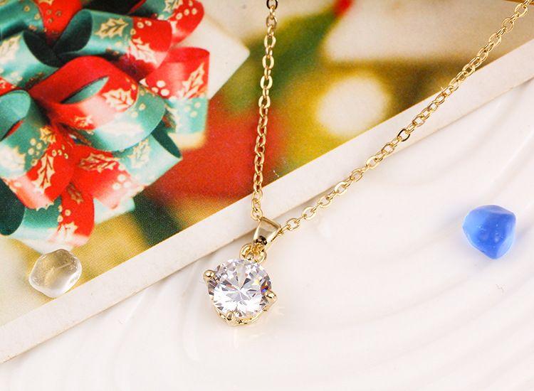 펜 던 트 목걸이 실버 골드 도금 된 목걸이 목걸이 다이아몬드 보석 패션 주얼리 골드 목걸이