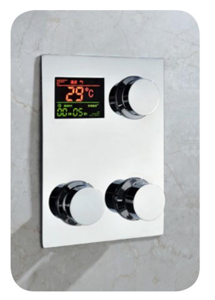 2018 Digital Thermostat Shower Mixer Control Temperature Sensitive ...