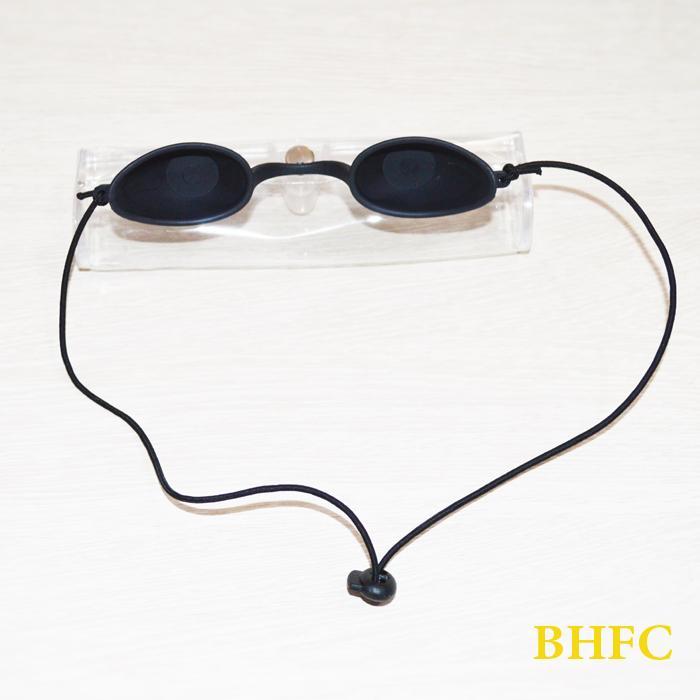 Eyepatch Safety Clinic Black Goggle Eye Protector IPL Goggles E-light Laser Photon LED Trattamento