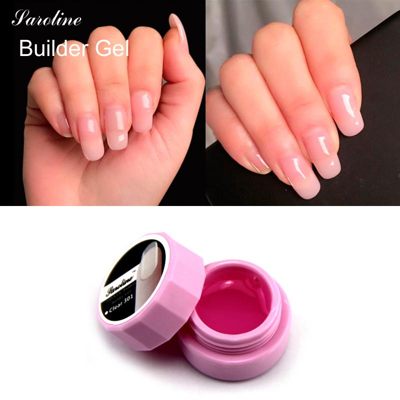 Wholesale Saroline Extension Pink White Clear Uv Led Builder Gel ...