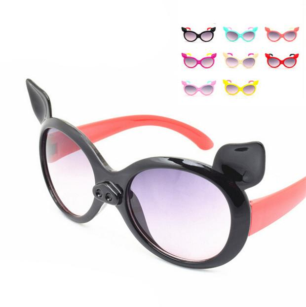 0dc81515a2d Cartoon Fashion Little Pig Children Sunglasses Kids Girls Boys Anti UV  Sunglass Summer Beach Glasses 2016 New Unique Design DCBF180 Retro  Sunglasses ...