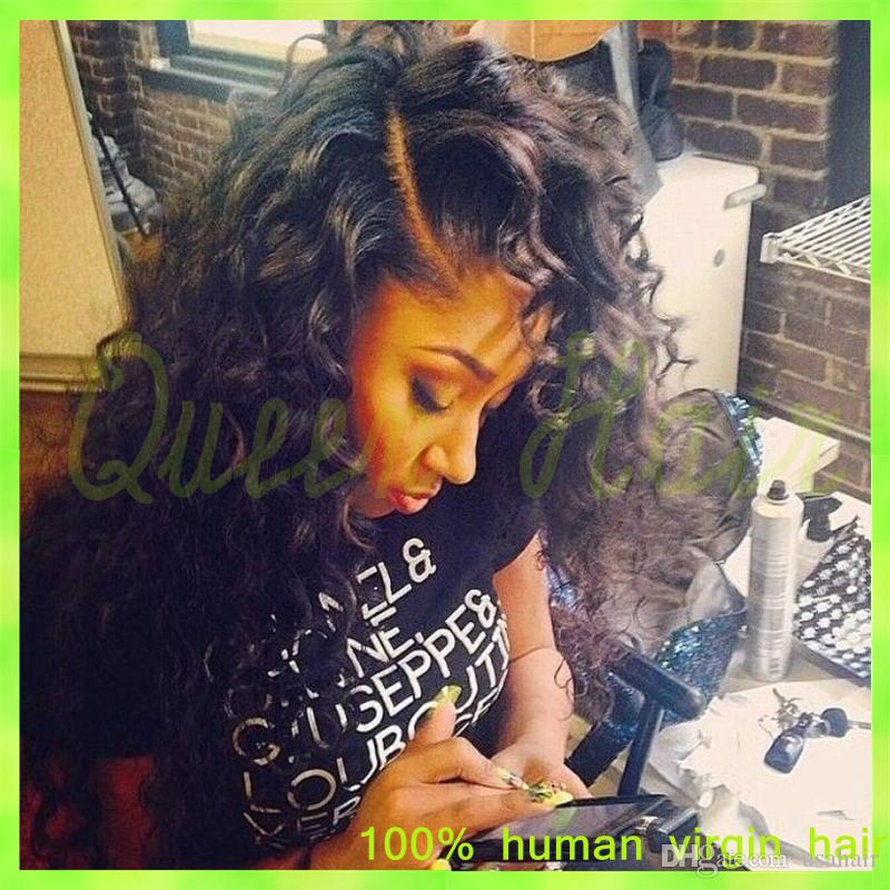 wet and wavy wig human hair brazilian lace front wig & full lace human hair wigs with baby hair for black women