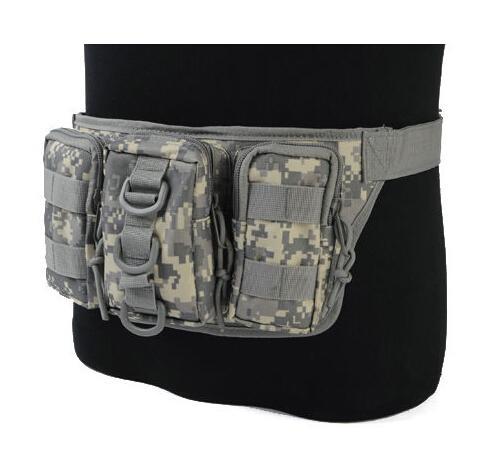 Airsoft taktische 1000D Molle Dienstprogramm bequem Triple Outdoor Sports Camping Radfahren Taille Rucksack Pouch Pack Bag