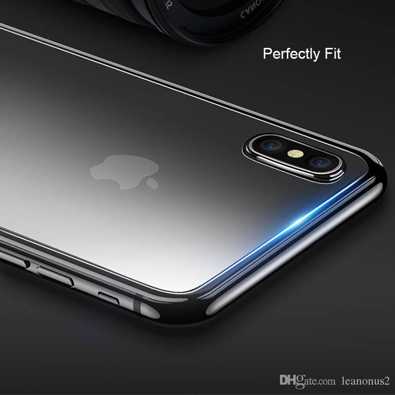 For iPhone X Rear Thin Tempered Glass Screen Protector Clear Back Toughened Glass Protective Film for Apple iPhone X