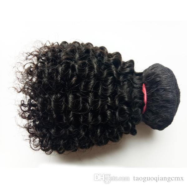 Heißer Verkauf Schöne Königin High-End-Haar European Brazilian Virgin Hair neue Art kurze 8-12inch verworrene lockige Doppel Schuss 50g / pc 300g /