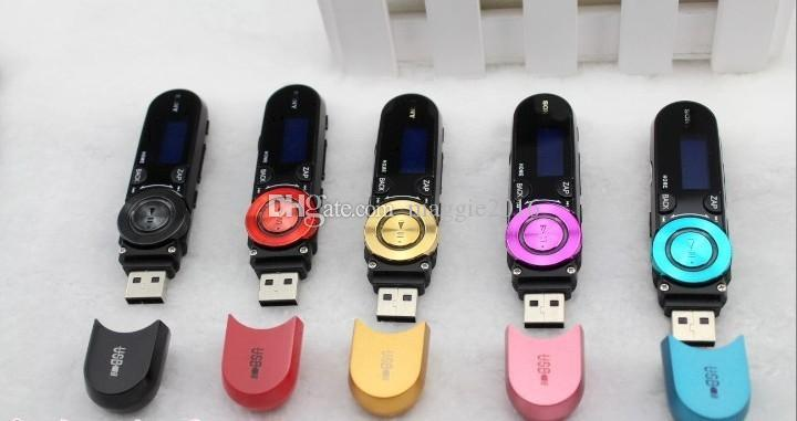 152 USB Flash Drive MP3 Player Real 2GB/4GB/8GB FM radio Recording Multi languages + Crystal Stereo Earphone