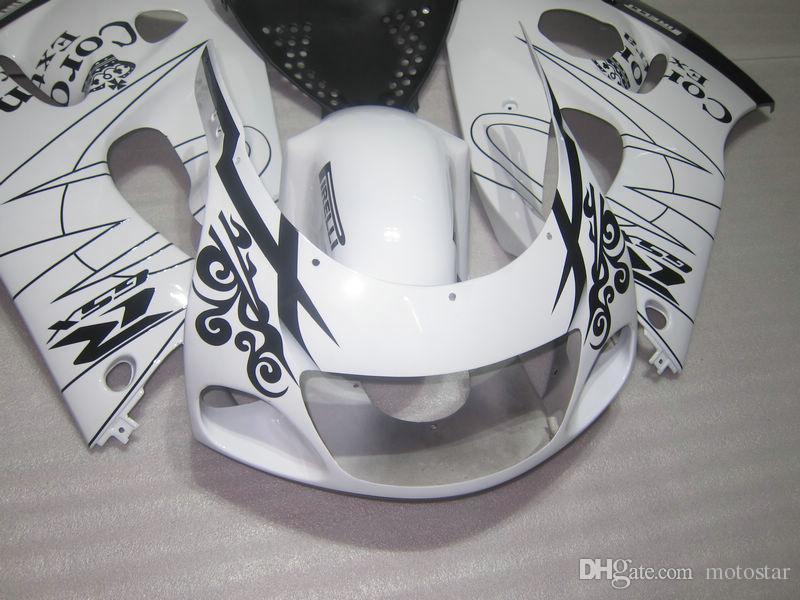 Настроить обтекатель для SUZUKI GSXR600 GSXR750 1996 1997 1998 1999 2000 GSX-R 600 750 96-00 белый черный обтекатель кузова Corona GB18