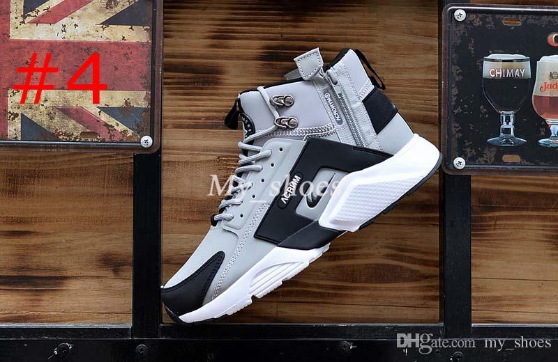 2017 New Air Huarache 6 X Acronym City MID Leather High Top Huaraches Running Shoes Men Women huraches Sneakers Hurache Zapatos Size 7-11