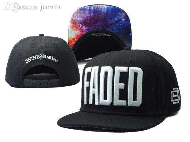 Wholesale New Arrival D9 Reserve FADED Snapback Hat Black Cheap Fashion Hip  Hop Mens Women Casual Adjustable Caps Sun Hats Baby Cap Embroidered Hats  From ... f8cf06eb4ac