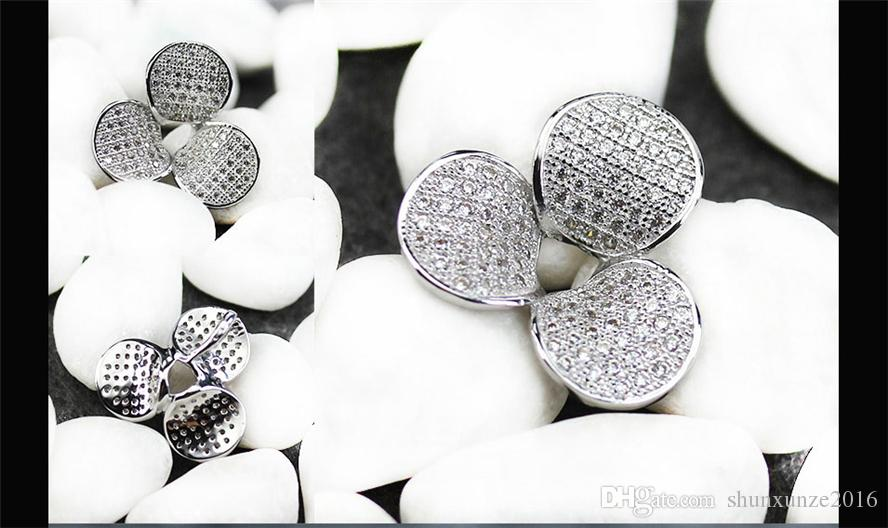 Time limited discount Punk Noble Generous MN3155 Recommend White Cubic Zirconia Best Sellers Copper Rhodium Plated Romantic Pendants Trendy