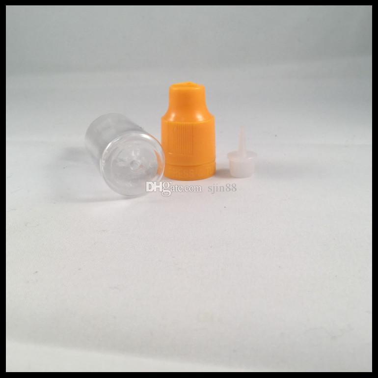 10ml E flüssige Flasche HAUSTIER leere Flasche mit kindersicherer Schutzkappe und Plastiktropfflasche für Ejuice