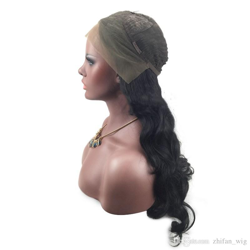 Z&F Synthetic Lace Front Wigs 26 inch Lace wigs Black Color Wigs For Black Women Natural Wave