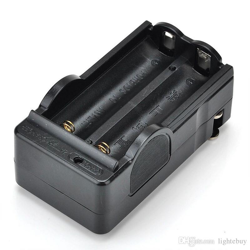 18650 LED 표시에 대 한 스마트 리튬 배터리 충전기 유니버설 검정 벽 충전기 AC 전원 입력 고품질 핫 세일 18650B