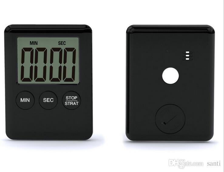2 цвета площадь Большой ЖК-цифровой кухонный таймер приготовления таймер будильник Магнит Despertador цифровой Настольные часы Temporizador бар таймеры