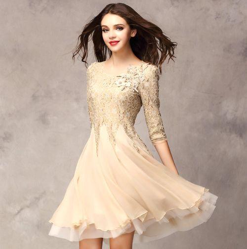 Dress for Slim Lady