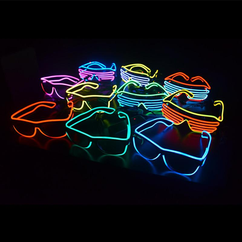 Best christmas gift neon led light glow el wire strip tube
