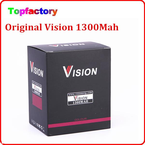 100% Original Vision Spinner Ego c tordre électronique batterie cigarette 1300 mah tension variable 3.3-4.8V ajustement Aspire Atlantis atomiseur