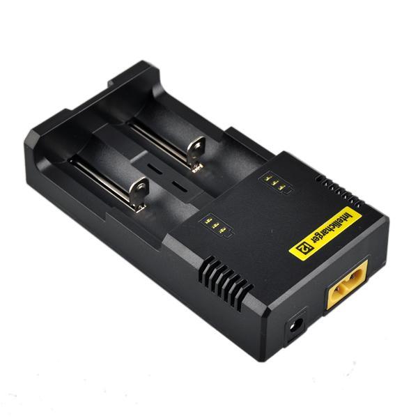 베스트셀러 Nitecore I2 유니버설 충전기 for 16340/18650/14500/26650 배터리 미국 EU AU 영국 플러그 2 in1 Intellicharger 배터리 충전기
